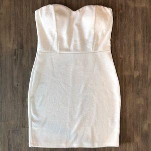 Charlotte Russe white dress size Medium